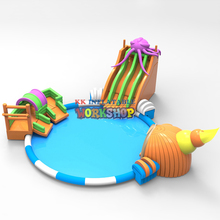 inflatable ocean theme water park Cooling and Requirements in Summer