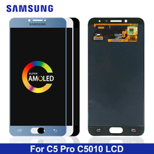 Buy for samsung galaxy c5 pro lcd screen and get free