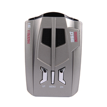 V9 12 V Coche Idioma Inglés Ruso Voz OEM Pantalla LED de Conducción Segura Evitando Fina Anti Radar Detector de Láser