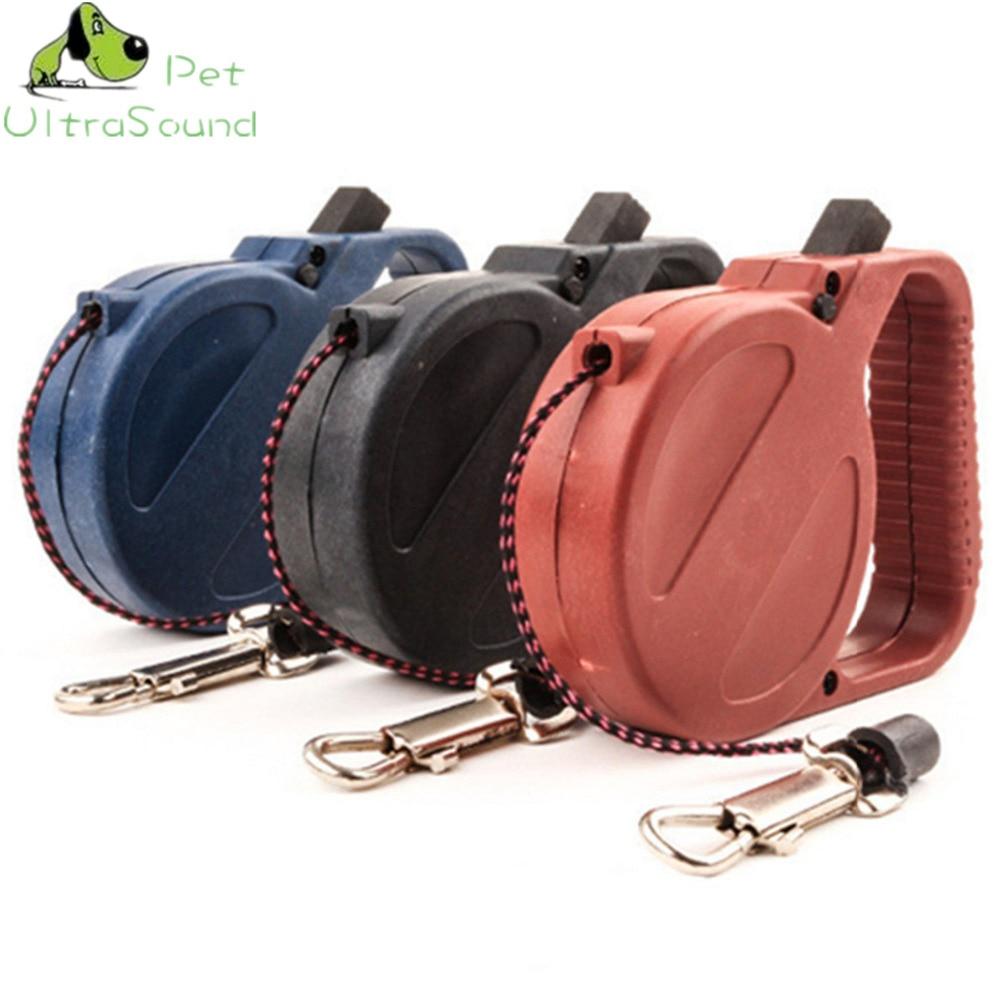 ULTRASOUND PET Tali Anjing Tali Anjing Tali Nilon Plastik Putaran 3 - Produk hewan peliharaan