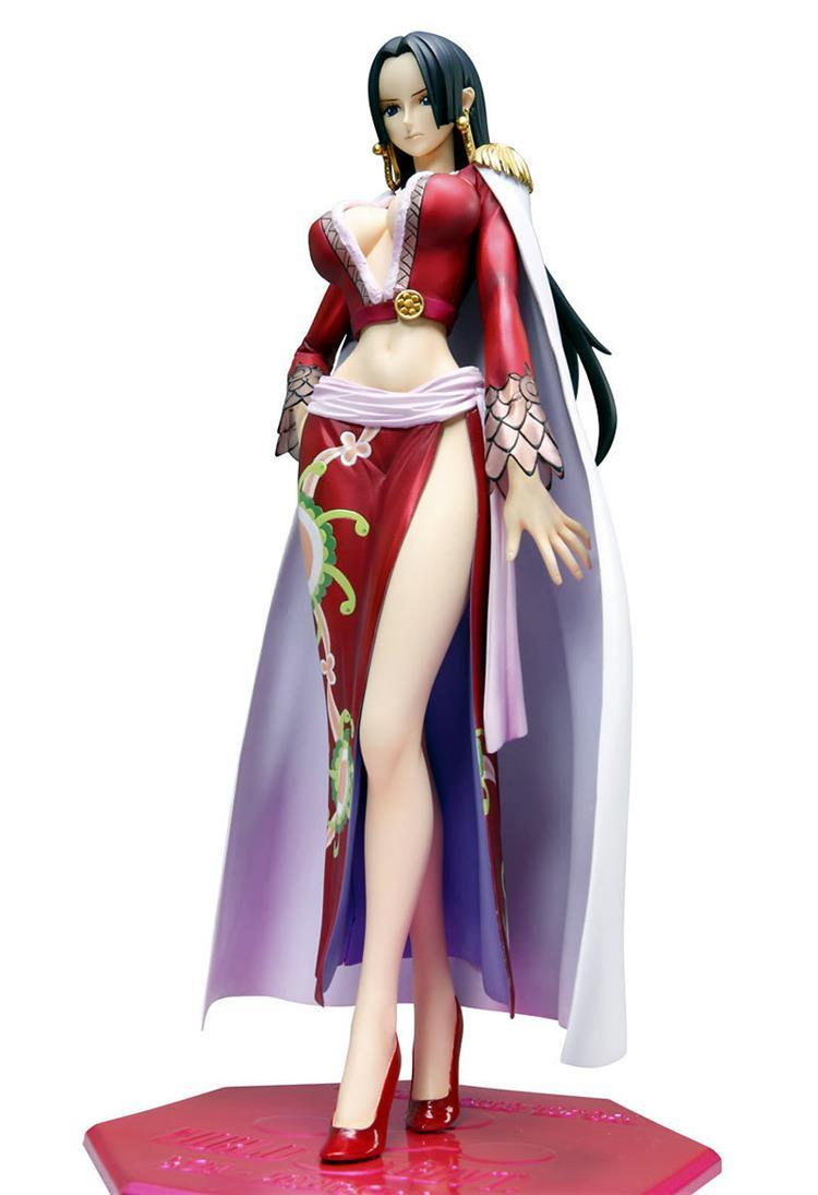 Hot Sale Japan Anime POP One Piece Boa Hancock Sexy Girl Action Figure Activities joint PVC Christmas Gift 23CM Free shipping new hot 12cm one piece boa hancock monkey d luffy modelling action figure toys collection doll christmas gift with box