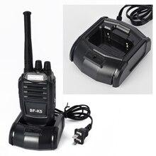2017 BaoFeng BF-K5 Black walkie talkie UHF 400-470MHz Design Handheld talkie two way radio Free Shipping