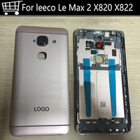 For Letv LeEco Le Max2 X820 Back Battery Cover Case Back Camera Glass Lens For Letv