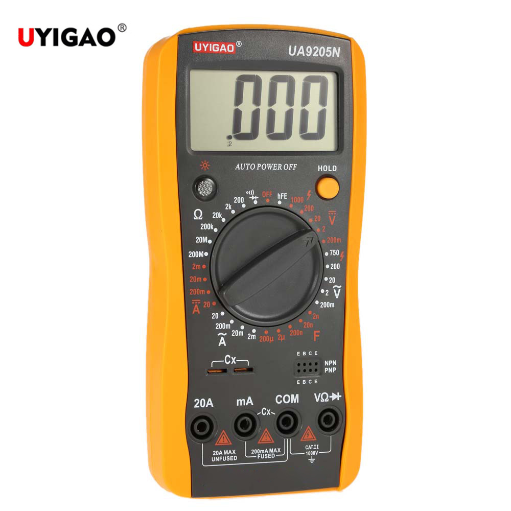 Multimeter For Home : Uyigao portable mini digital multimeter meter tester dc ac