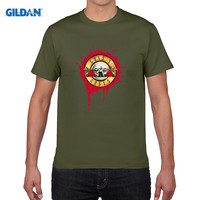 GILDAN Pure Cotton Round Collar T Shirt HU GH Brand New Guns N Roses T Shirt