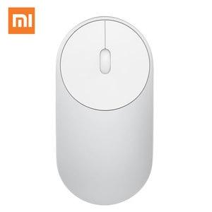 Image 2 - Оригинальная портативная беспроводная мышь Xiaomi mi, в наличии, оптическая мышь Mi с Bluetooth 4,0, RF, 2,4 ГГц, двойной режим, Connect Mi 1200, точек/дюйм