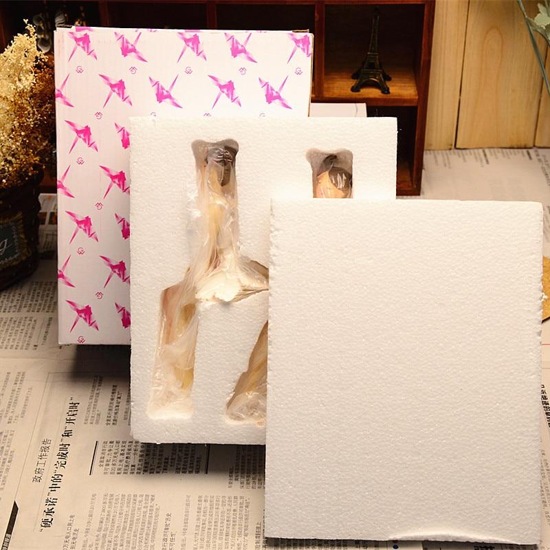 2 pcs / set Indah Malaikat Resin Kerajinan Peri Figurines Hadiah - Dekorasi rumah - Foto 6