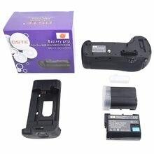 DSTE MB-D12 батарейный блок + 2 шт. ENEL15 для NIKON D800 D800E DSLR камеры