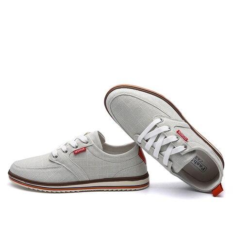 ZUNYU Men Casual Shoes 2019 Canvas Shoes Men Breathable Casual Canvas Men Shoes Walking Men Shoes Chaussure Homme Factory sales Multan