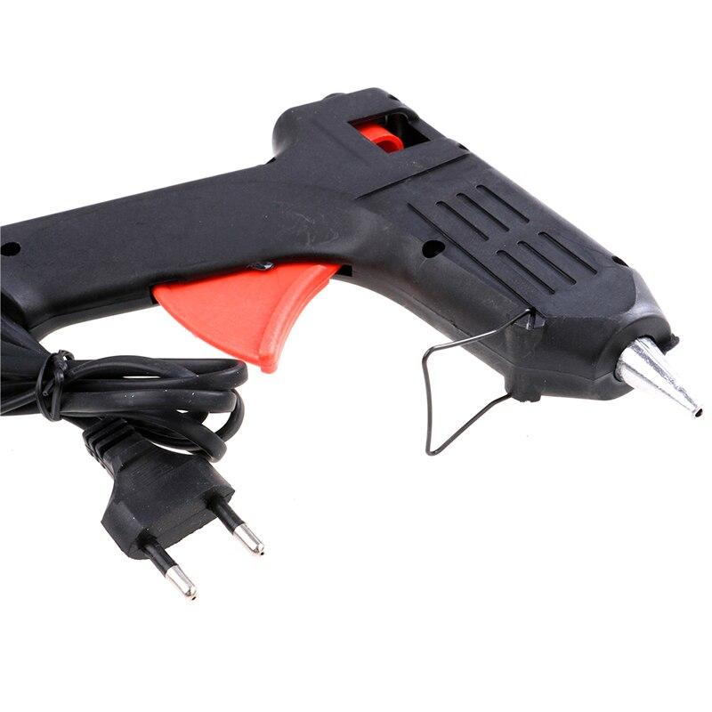 40 Вт термоклей пистолет нагреватель Trigger Электрический Отопление ремонт инструмент ЕС Plug применимо клей-карандаш Диаметр: 11 мм