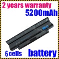JIGU Hot Sale New  Laptop Battery For N4010 N4010D 5010 N5010 N5010D Type J1KND 10.8V 48Wh Free Shipping j1knd