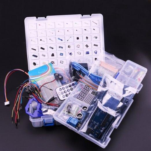 Ultimate Starter Kit including Ultrasonic Sensor UNO R3 LCD1602 Screen for Arduino Mega2560 UNO Nano with