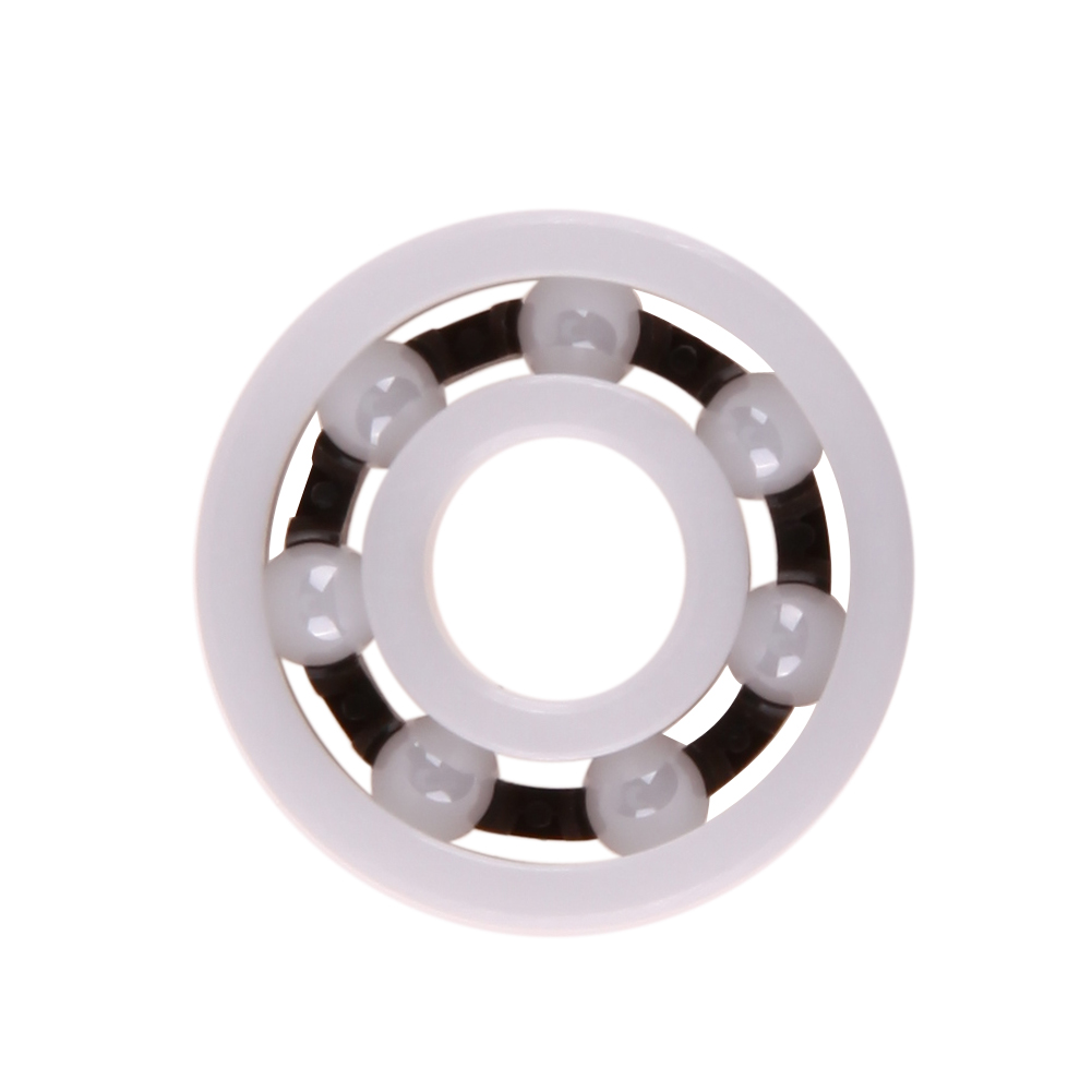 1pc ZrO2 Full Ceramic Bearing 608 Zirconia Oxide Ceramic Ball Bearing for Fidget Hand Spinner 8mm*22mm*7mm NG4S tri fidget hand spinner triangle metal finger focus toy adhd autism kids adult toys finger spinner toys gags
