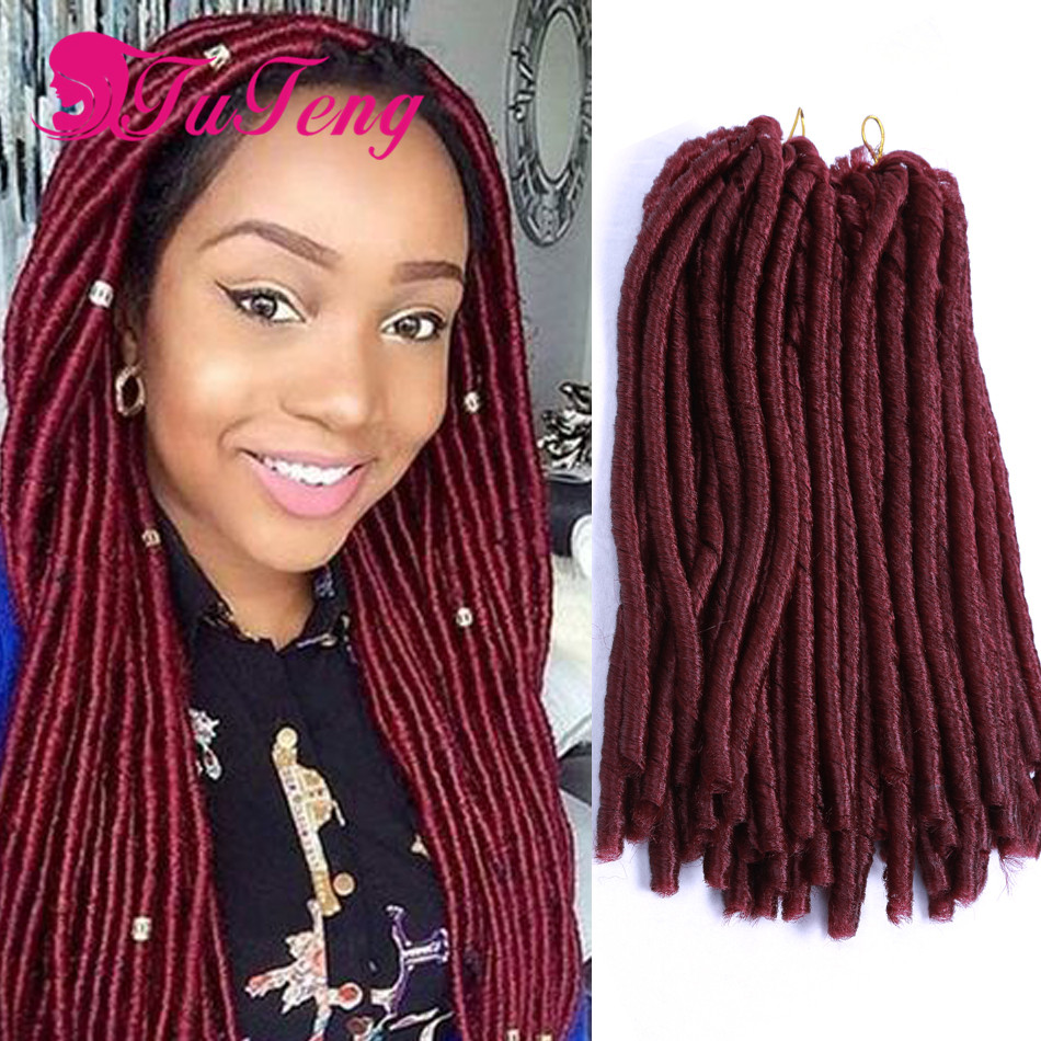 Top Crochet Braid Hair 14 Inch Burgundy Havana Mambo Twist Havana