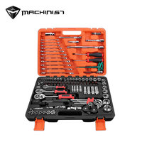 121pcs/set Wrench socket set Ratchet Set Torque Wrench Combination Engine Tires Spark plug Filter chassis Car Repair Tool