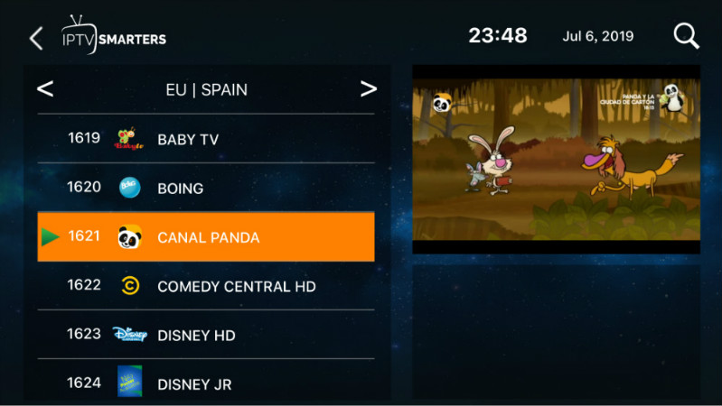 1 year IPTV Spain and IPTV Portugal M3U Subscription With