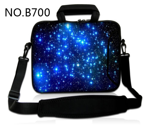 Blue Star Sky 11.6/13.3/14.1/15.4/17.1/18.8 inch Laptop Bag Messenger Bag Business Waterproof Laptop shoulder bag for man&woman