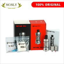 Original Kanger Toptank Mini Atomizer kit Black White SS Red Color Kanger Sub Ohm Tank for