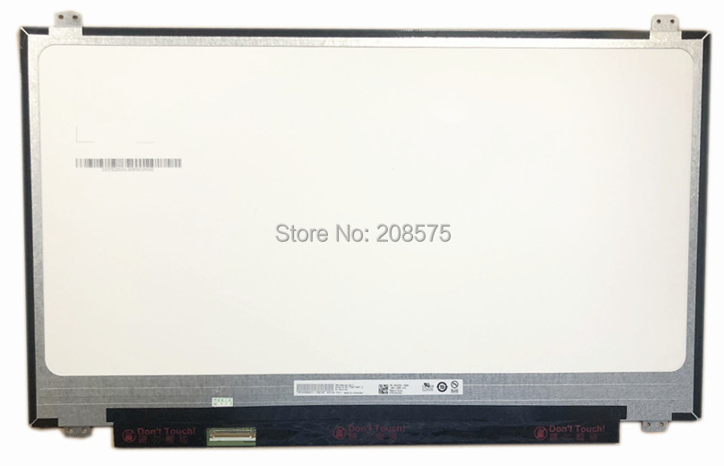 Free Shipping B173QTN010 B173QTN01 173 inch 3K LCD Screen 2560*1440 Wideview Display Laptop LED Screen EDP 40 PIN