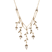 JOOLIM Jewelry Wholesale/2017 Vintage Gold Color Statement Necklace Design Jewelry Fashion Accssories