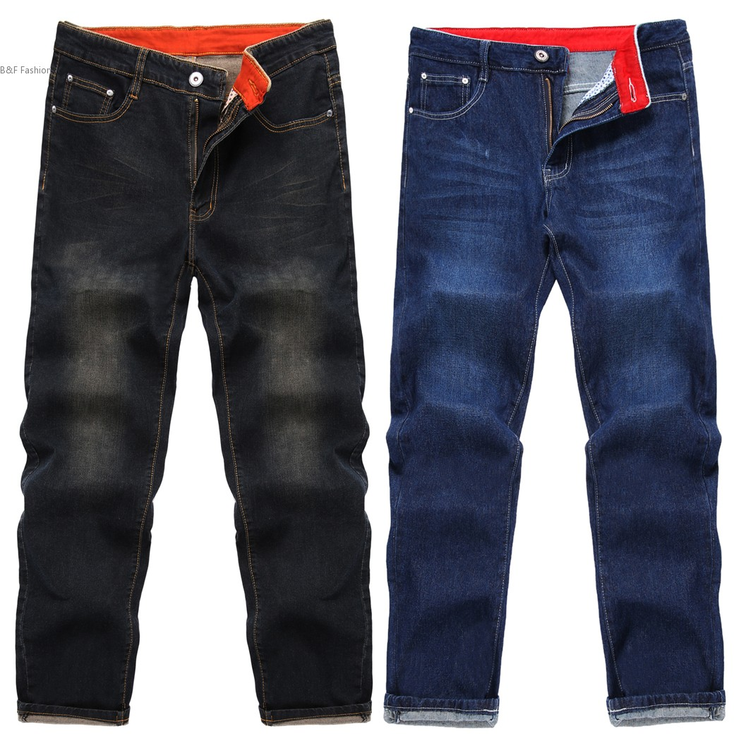 New  Men Fashion Mid Waist Zip Fly 5 Pockets Regular Fit Jeans Denim Black Blue Slim Straight Washed Mens Jeans men s cowboy jeans fashion blue jeans pant men plus sizes regular slim fit denim jean pants male high quality brand jeans
