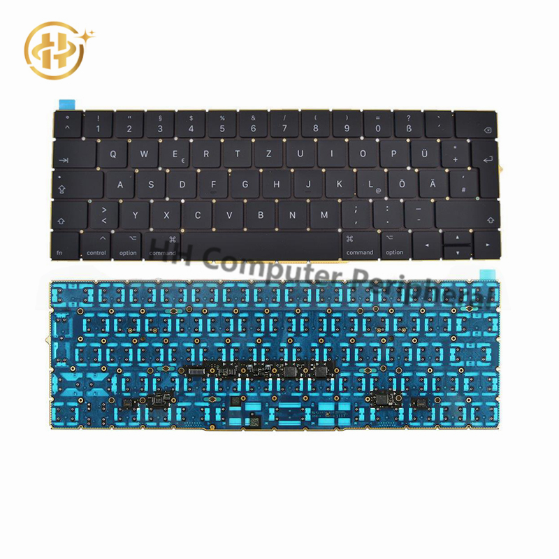 Original A1706 Keyboard German GR EU EURO for MacBook Pro 13.3Retina A1706 German Keyboard DE Deutsch QWERTZ Tastatur Keyboard цена