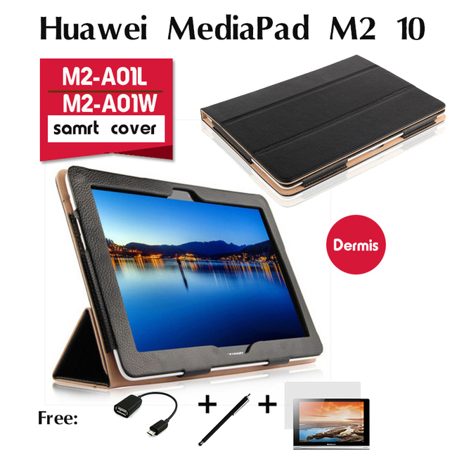 Surprising For Huawei Mediapad M2 10 Leather Cases M2 A10L W Holster 10 Inches Tablet Shell High Quality Genuiue Leather Stand Cover Case In Tablets E Books Interior Design Ideas Oteneahmetsinanyavuzinfo