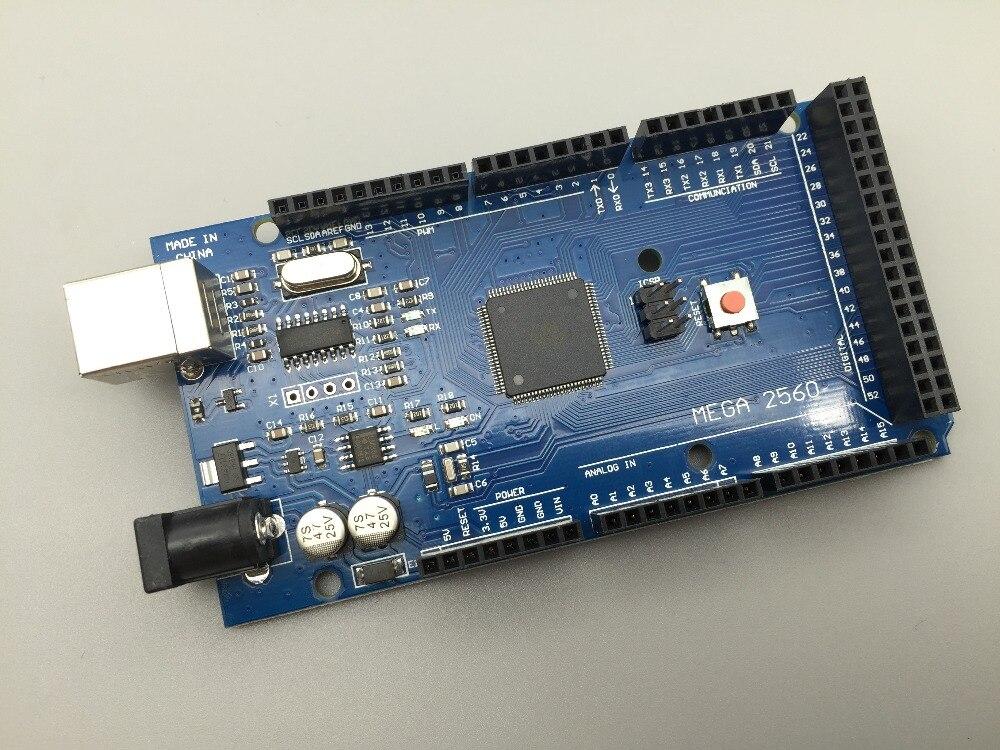 1pcs MEGA 2560 R3 CH 340G ATmega2560 AVR USB Board NO USB Cable ATMEGA2560 For Arduino