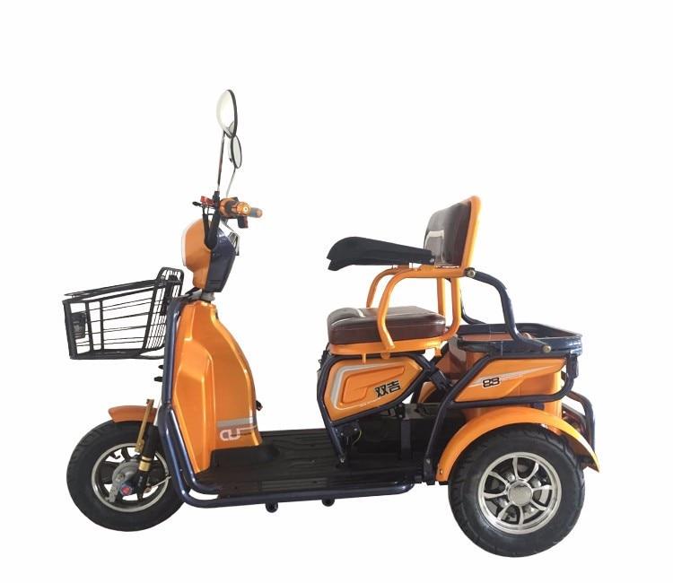 Дизайн деформируемая игрушка 48v 500w Электрический трехколесный скутер