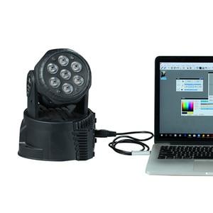 Image 4 - YIYANG USB to DMX 인터페이스 어댑터 케이블 110cm 길이 무대 조명 PC DMX512 컨트롤러 조광기 DMX USB 신호 변환