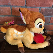 Original Cute Bambi Deer Animal Soft Stuffed Plush Toy Doll Birthday Gift Children Gift Collection