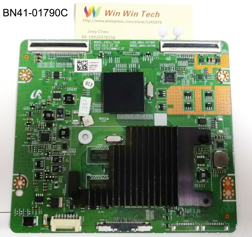 Utilisé Original UA46ES7000J carte logique BN41-01790C LTJ550HQ16 T-CON BN41-01790C pour 40 46 55 tous en stock BN41-01790C