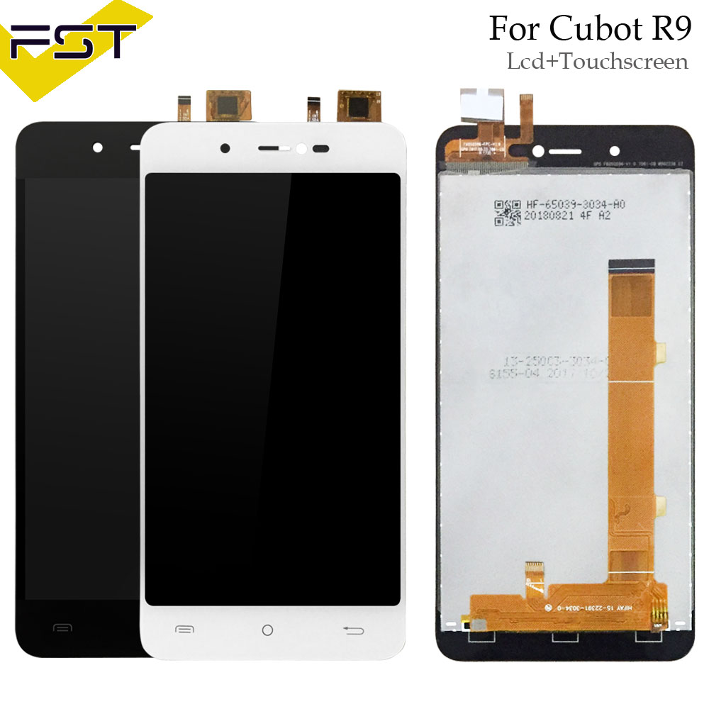 5.0 pouce Pour Cubot R9 LCD Display + Écran Tactile Digitizer Assemblée Pour R9 LCD Panneau de Verre Pièces De Rechange + outils