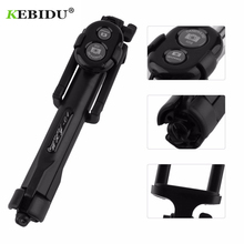 kebidu Wireless Bluetooth Tripod Stand Selfie Stick Monopod For IOS Android Phones Desktop Tripod Holder Stand Mini Selfie Stick