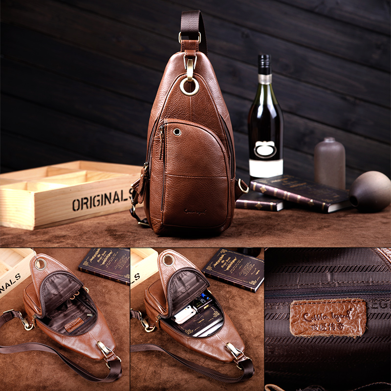Cobbler Legend 2019 Brand Dizajner Muška Messenger Bag Jedna torba - Torbe - Foto 3