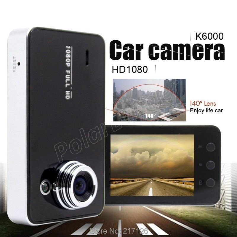 <font><b>K6000</b></font> HD 2.4 inch <font><b>Car</b></font> <font><b>DVR</b></font> Driving Data Recorder Camcorder Vehicle Camera With 90 Degree Angle View image