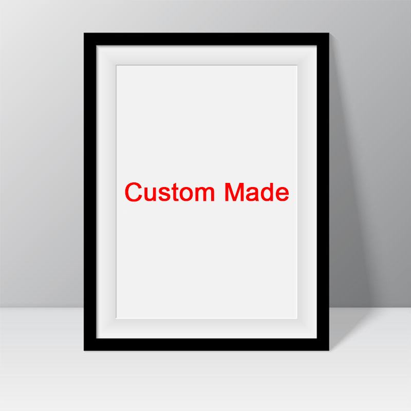 Custom Made On Coated Waterproof Printing Customized With Own Photo Artwork Your Picture Poster DIY Your Own Picture