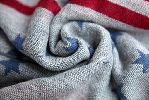 aad0b2e39068 2016 bandeira americana infinito cachecol echarpes foulard mulheres stripe  estrela mujer bufanda mujer femme fulares poncho outono inverno schal em  Lenços ...
