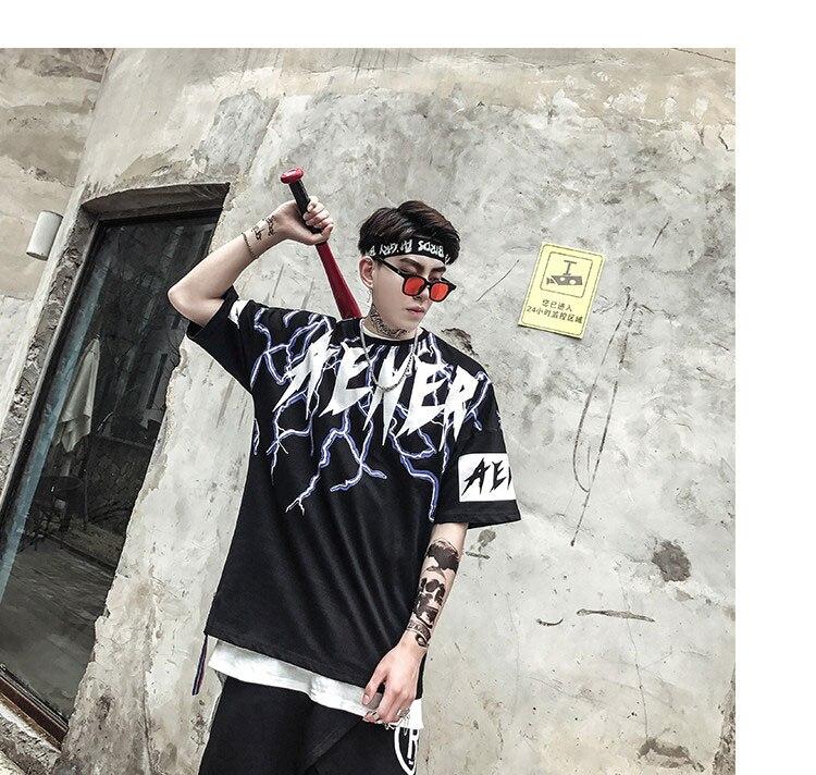 Graphic Tshirts Men Fashion Casual Short Sleeve   (6)