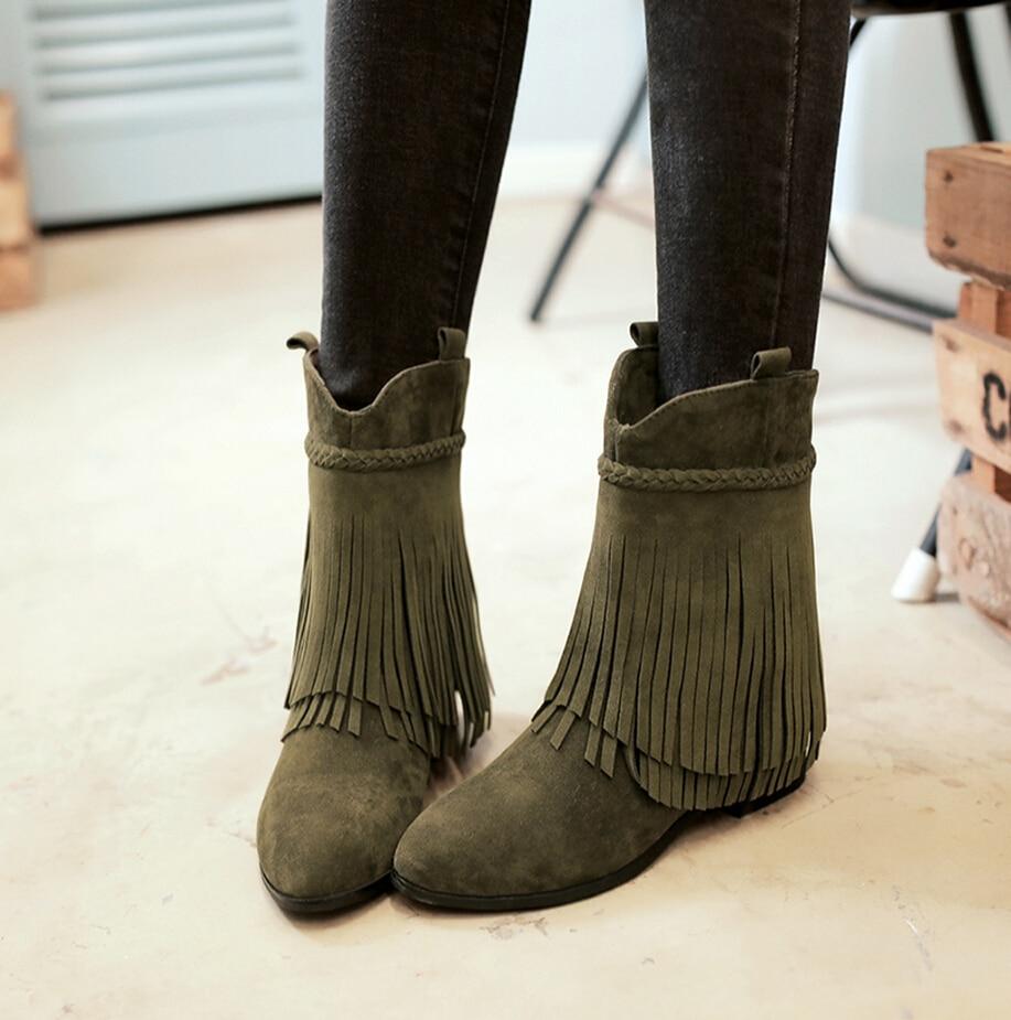 vert de mode bottes-achetez des lots à petit prix vert de mode
