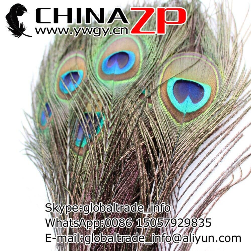 Chinazp завод 500 шт./лот длина 110-120 см натуральный глаз павлиньи перья Бесплатная доставка FedEx/DHL/EMS