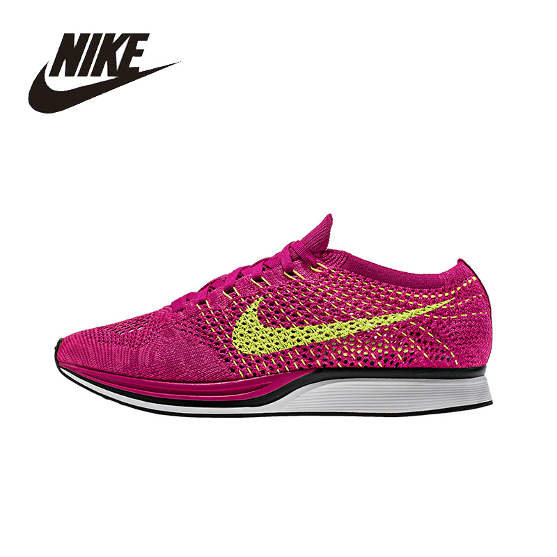 huge discount d276a e4304 ... coupon for max discount last pair nike original new arrival air flyknit  racer womens running shoes