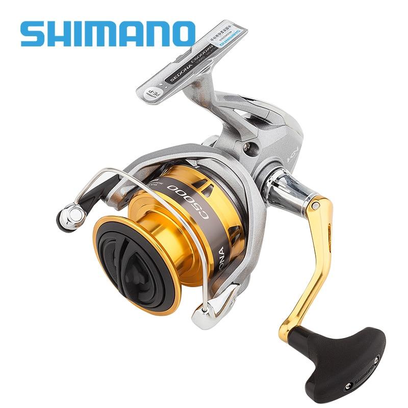 SHIMANO SEDONA FI Spinning Fishing Reel Deep Cup 1000 C2000S 2500 C3000 4000 6000 8000 fishing
