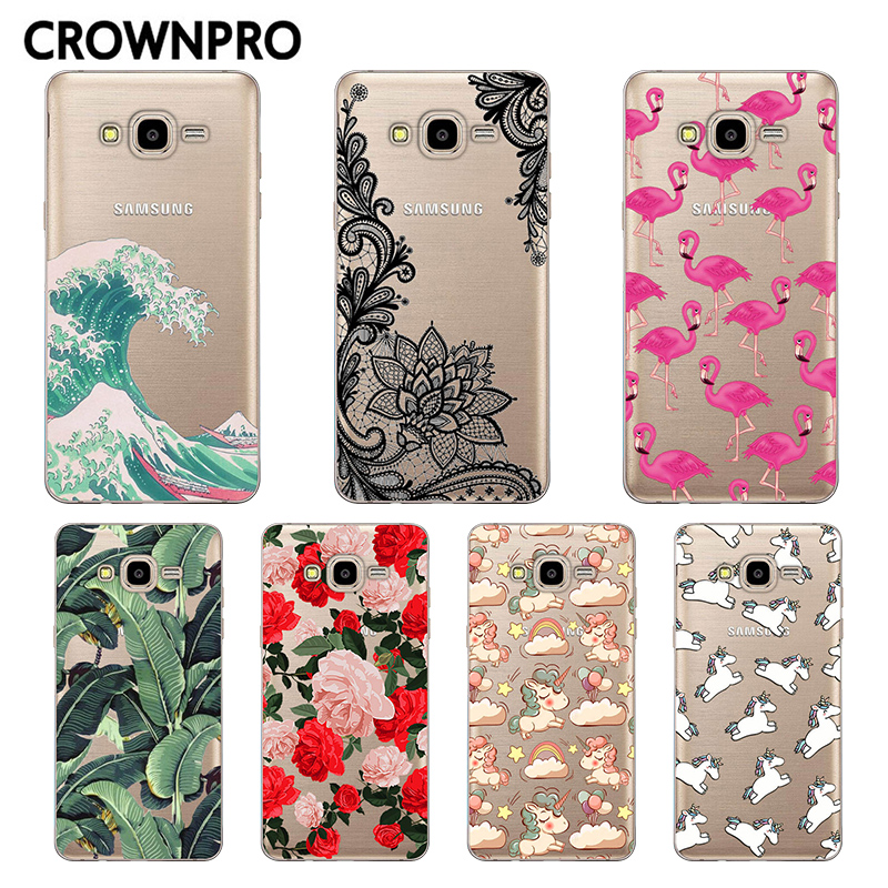 CROWNPRO FOR Coque Samsung Galaxy Grand Prime Case Cover G53