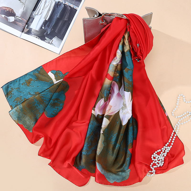 Top Quality Bandana Scarf Luxury Brand 2016 Fashion Women