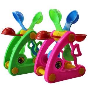 Image 1 - 1 шт., милые ветряные мельницы, водяные колеса, летние игрушки для игры в песочную воду, бассейн для купания, пляжные вечерние игрушки для детей, игрушки для ванной, случайный цвет
