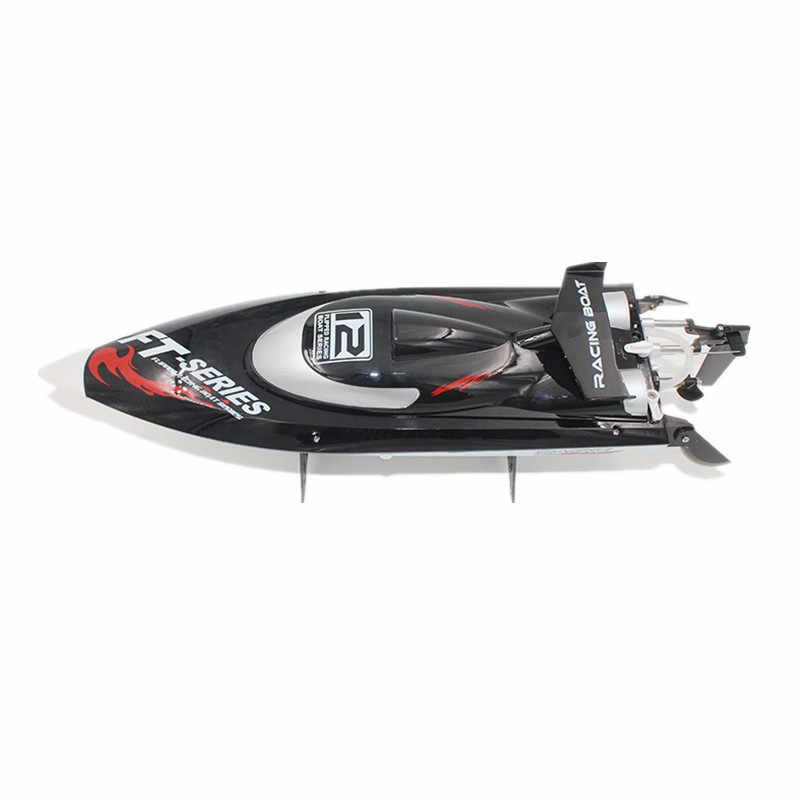 FEILUN FT012 2,4G de alta velocidad sin escobillas RC Barco de carreras Control remoto modelo de juguete