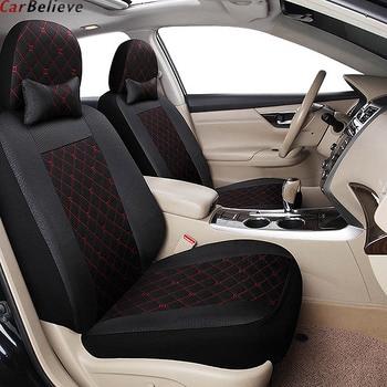 Car Believe car seat cover For renault logan megane 2 captur kadjar fluence laguna 2 scenic accessories covers for car seats