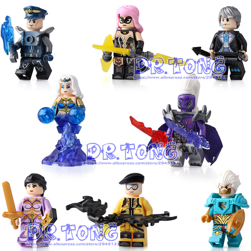 DR TONG 80PCS/LOT SY667 Enlighten Figures One of China Romance the Three Kingdoms King Knight Heroes Building Blocks Toys Gifts asus vivo aio v221icuk black моноблок v221icuk ba058r