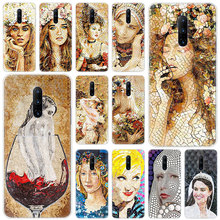 Hot Abstract beauty art Soft Silicone Fashion Transparent Case For OnePlus 7 Pro 5G 6 6T 5 5T 3 3T TPU Cover
